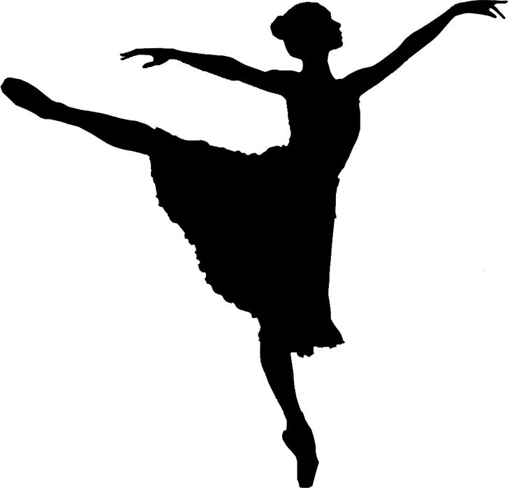 736x698 Modern Dancer Silhouette Clipart Panda Free Clipart Images