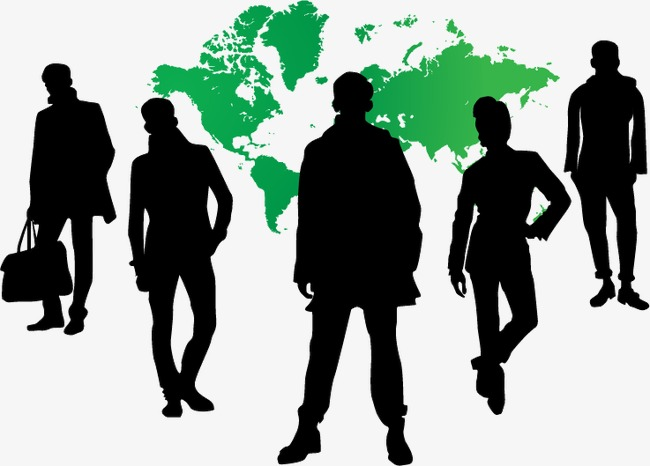 650x466 Business People Silhouettes, Sketch, Cartoon, Business Png