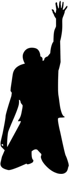 236x588 Man Praying Silhouette One Caucasian Man Kneeling Sadness