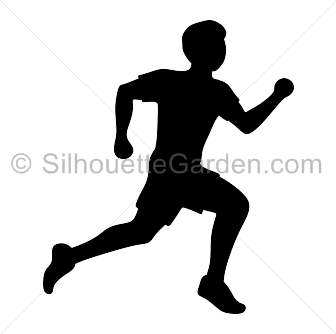 336x334 Running Man Silhouette Clip Art. Download Free Versions