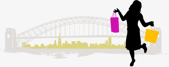 579x231 People Shopping City, City, People Vector, Shopping Vector Png