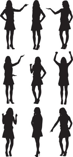 236x503 Silhouette People