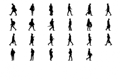 400x266 Illustrator Walking Young For High Quality Architectural Drawings