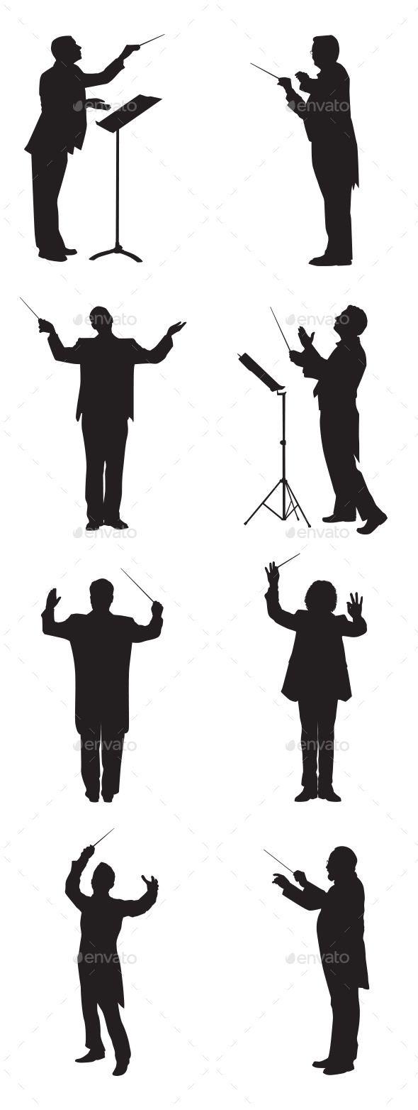 590x1564 Music Conductor Conductors, Adobe Illustrator And Adobe