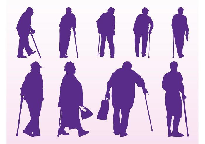700x490 Elderly People Silhouettes