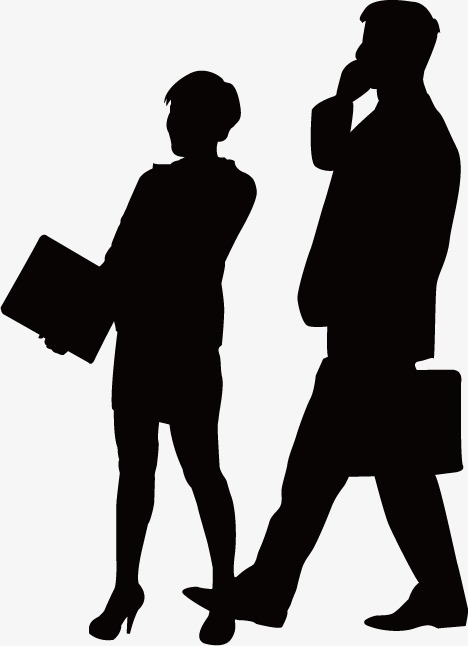 468x646 Conversation Business People Silhouettes, Sketch, Business