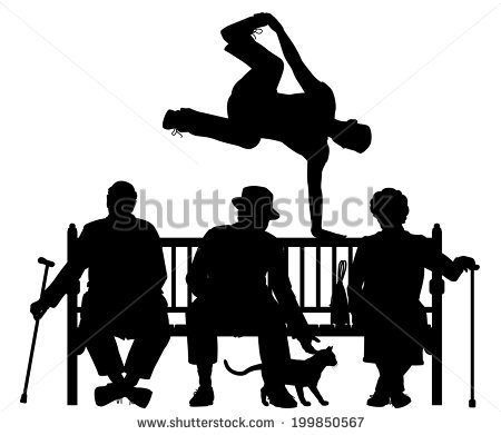450x391 Clipart Of People Sitting On Park Benches Collection