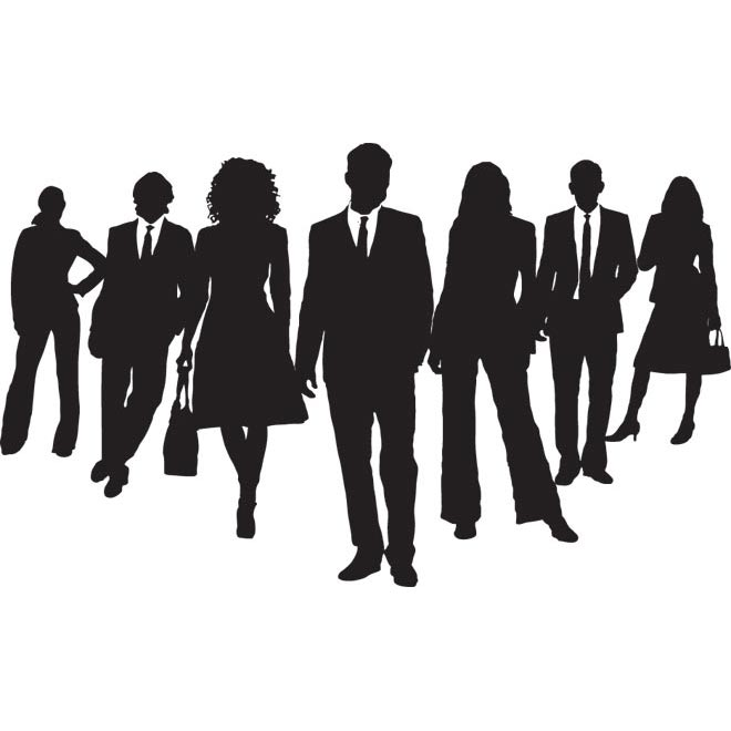 660x660 Business Clipart Illustration Vector