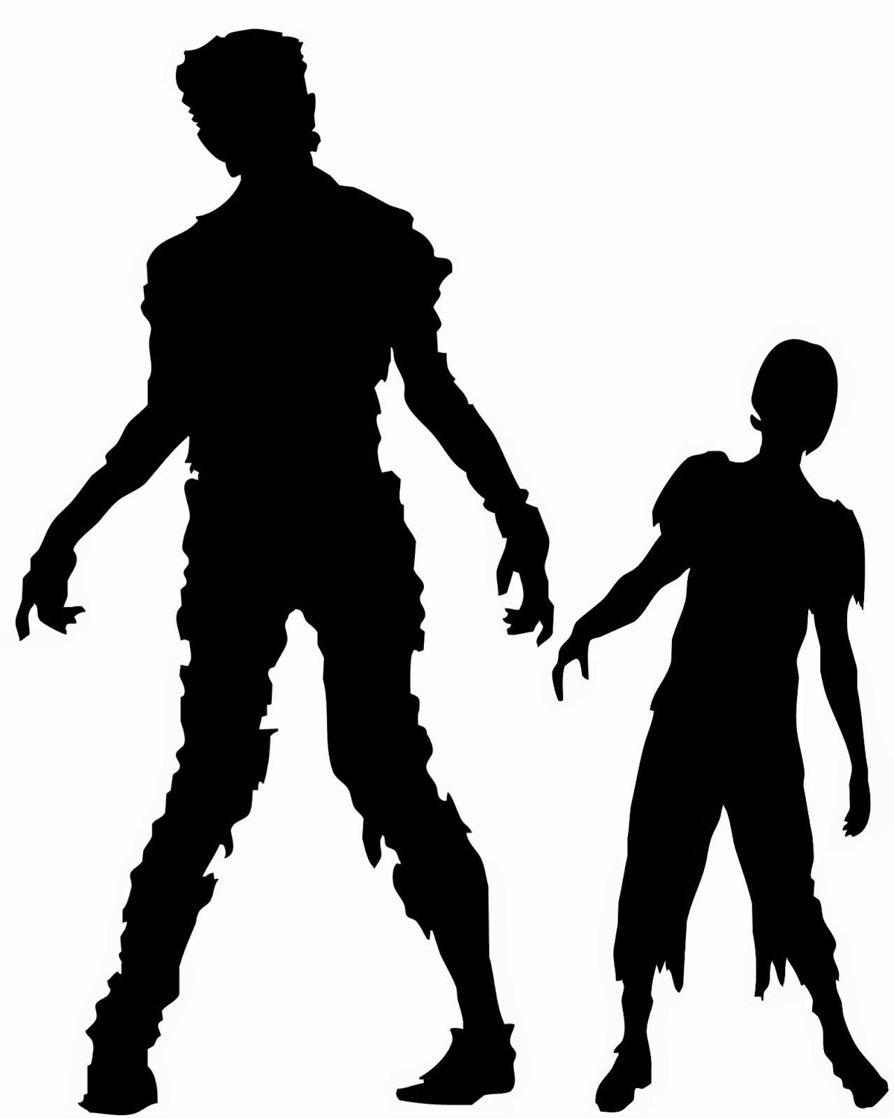 1280x1600 Walking Zombie Clipart