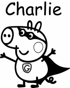236x298 Image Result For Peppa Pig Silhouette Peppa