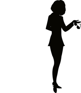 261x300 Shadow Clipart Business Person