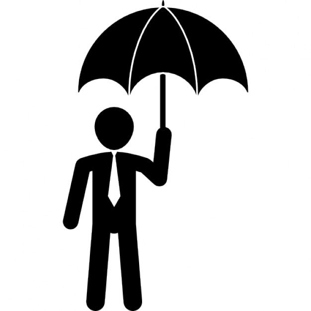 626x626 Businessman With Umbrella Icons Free Download