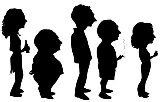 person silhouette clip art at getdrawings com free for personal rh getdrawings com free clipart of people thinking free clipart of people thinking