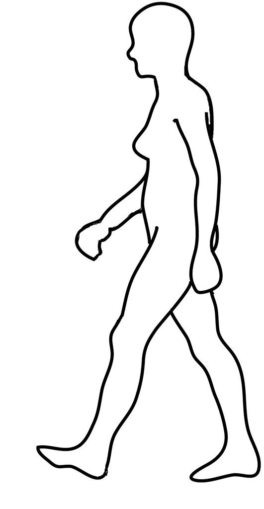 Jogger Drawing At Getdrawings Free Download