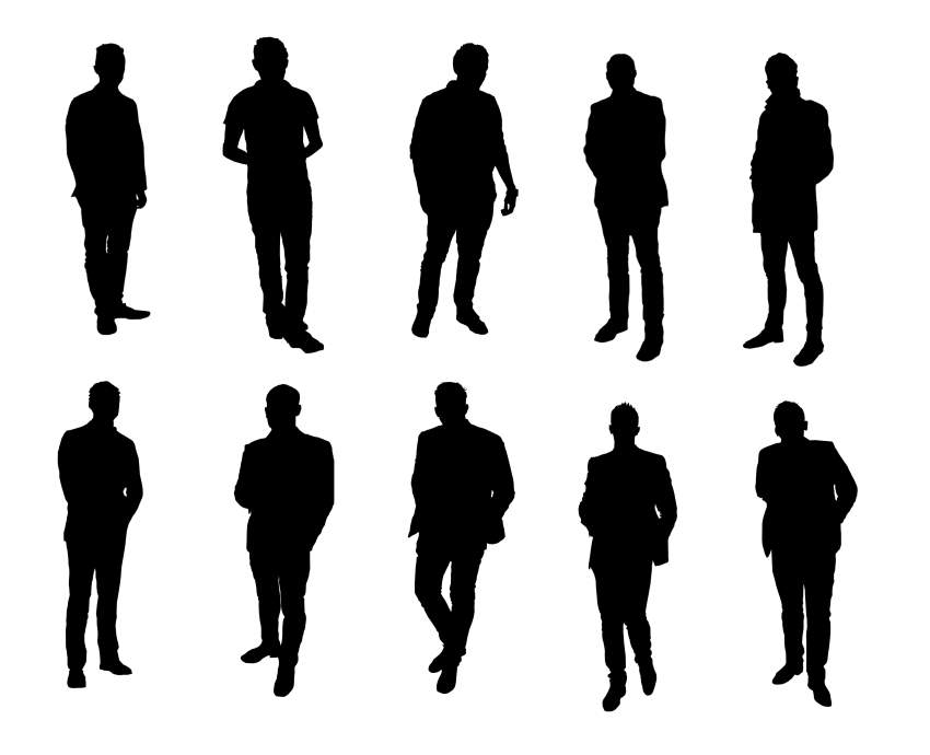Person Silhouette Standing