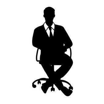 340x340 Free Silhouette Vector Office Worker