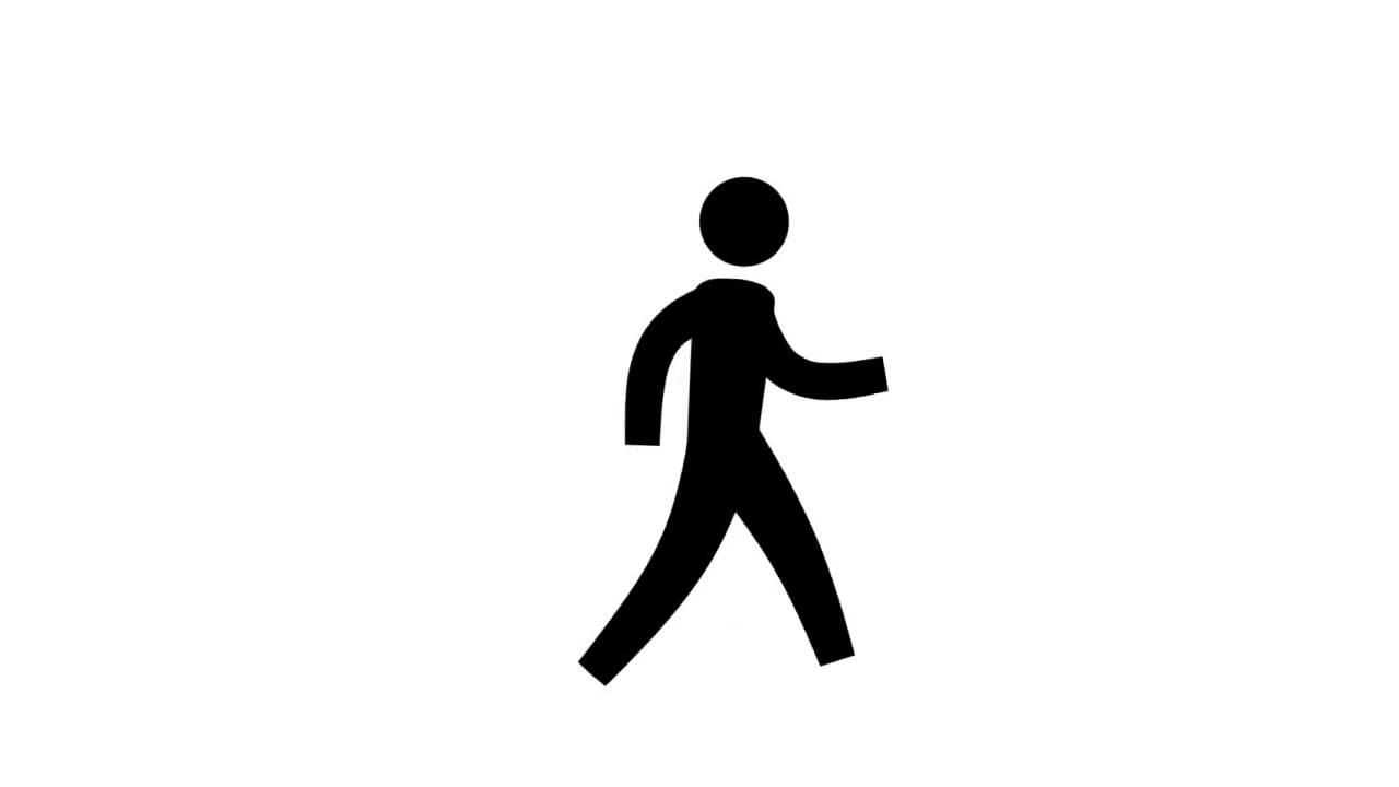1280x720 Walking Man Animation! Enjoy!!!