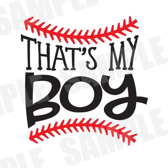 570x570 Svg Dxf Commercialpersonal Use Baseball That's My Boy Silhouette