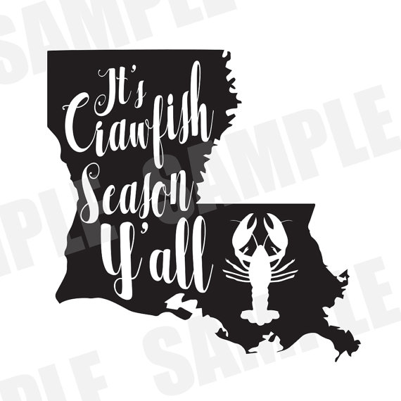 570x570 Svg Dxf Commercialpersonal Use It's Crawfish Season Y'All