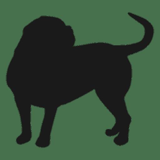 512x512 Dog Silhouette 3