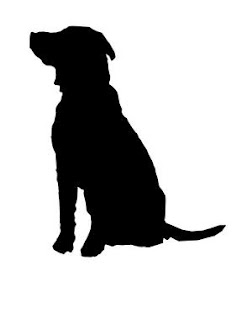 232x320 Dog Silhoutte Art Projects Dog, Silhouette