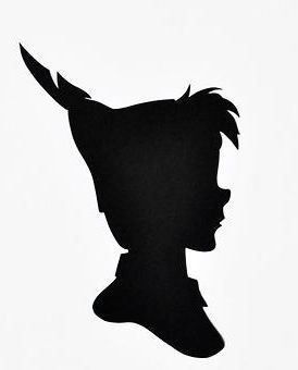 274x340 Peter Pan Clipart Silhouette