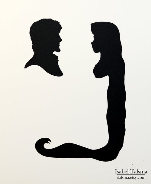 500x608 Handcuts Silhouettes By Isabel Talsma Love Of Disney