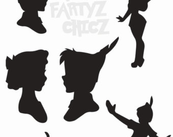 340x270 Shadow Clipart Peter Pan 3893892