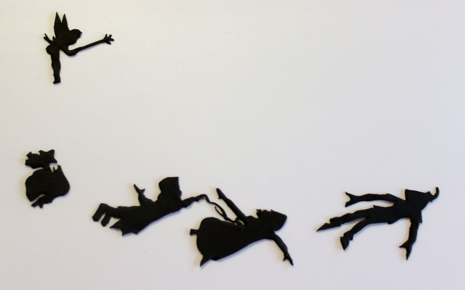 1500x935 Pan Silhouette Flying Clipart With Peter Silhouettes