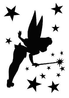 236x336 Tinkerbell Silhouettes Clipart Clip Art Digital By Belowblink