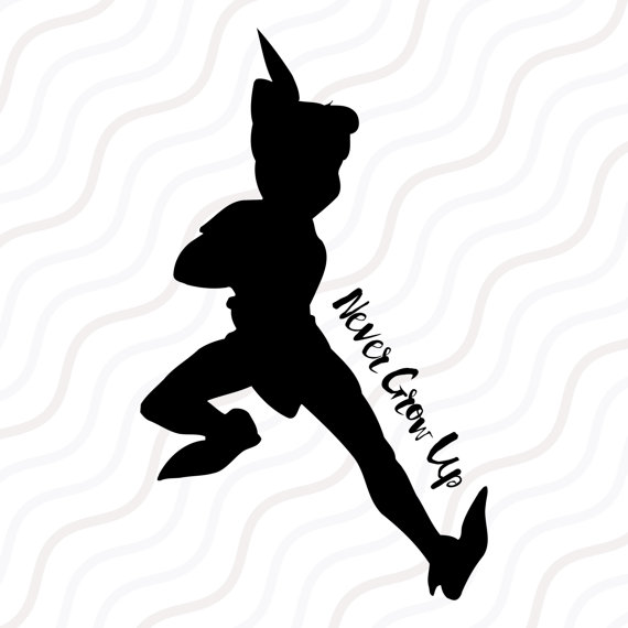 570x570 Peter Pan Svg Peter Pan Dxf Peter Pan Silhouette Svg Cut