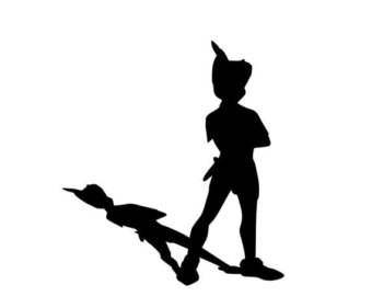 340x270 Shadow Clipart Peter Pan 3893900
