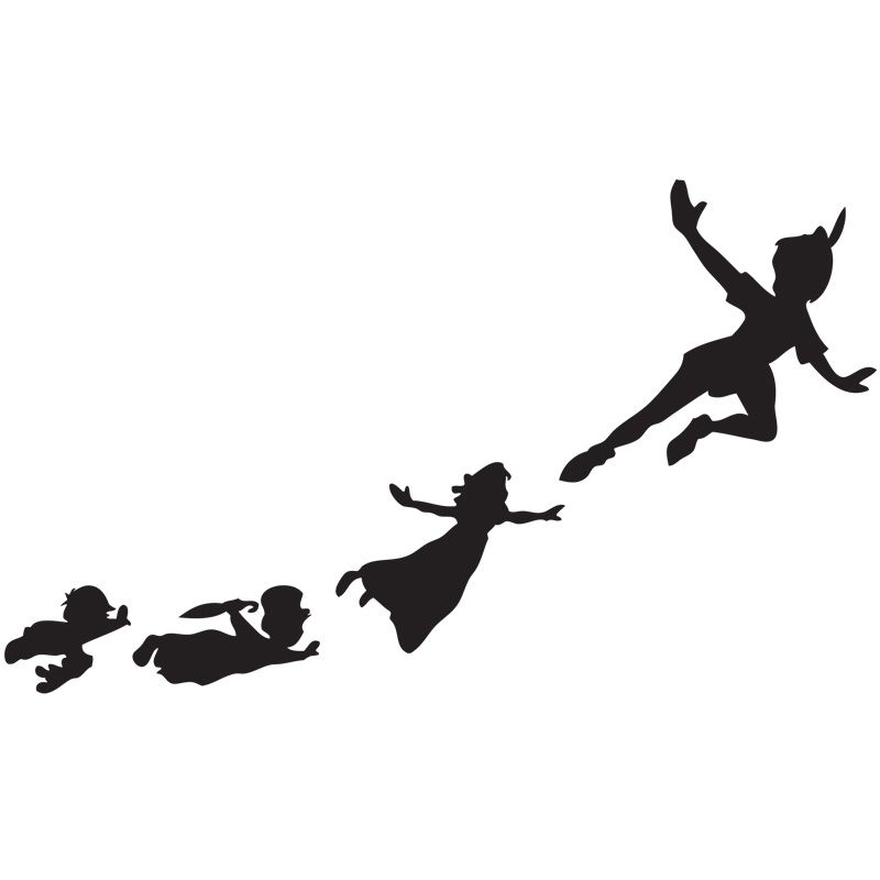 800x800 Peter Pan Silhouette Piece Interlocking Anti Fatigue Floor Mat