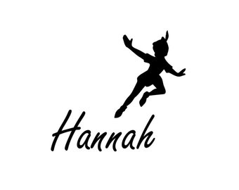 Peter Pan Silhouette Flying at GetDrawings com | Free for