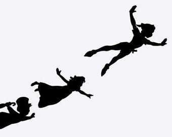 340x270 Paper Cut Peter Pan Etsy