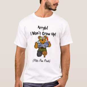 307x307 Peter Pan T Shirts Amp Shirt Designs Zazzle Uk