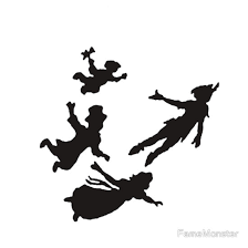 224x224 Peter Pan Silueta Neverland