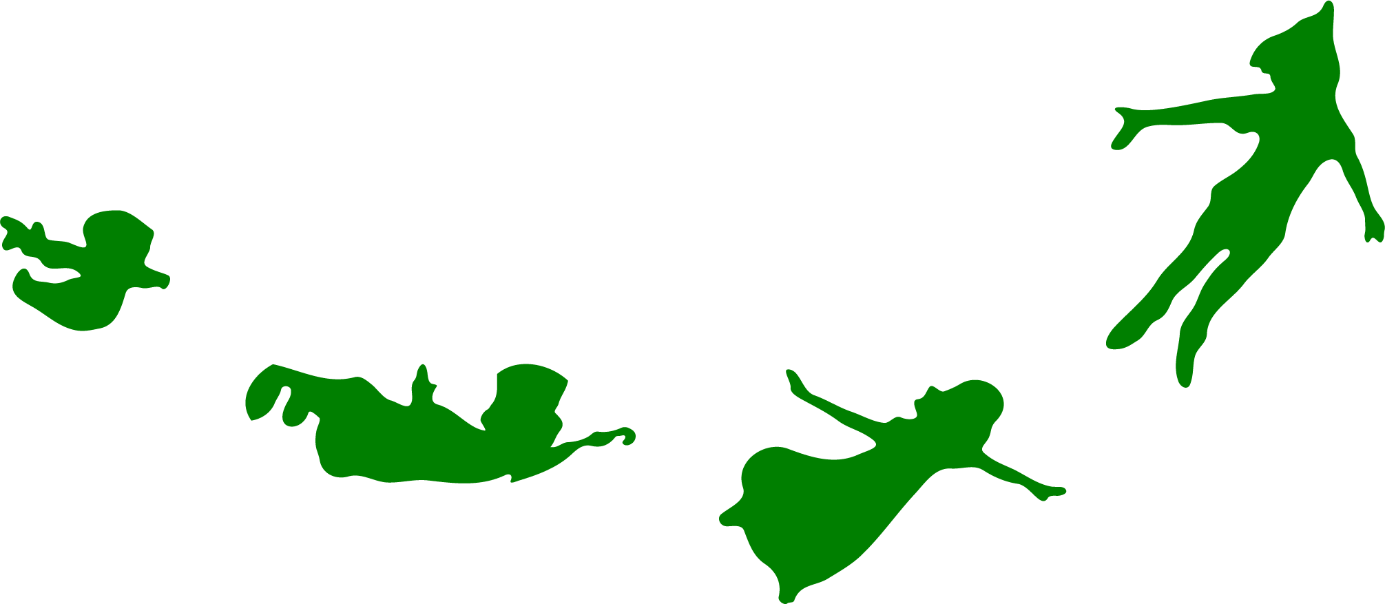 2011x877 Peter Pan Silhouette Flying