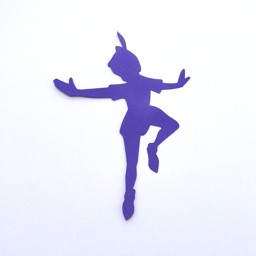 833x833 Tinkerbell Flying Silhouette