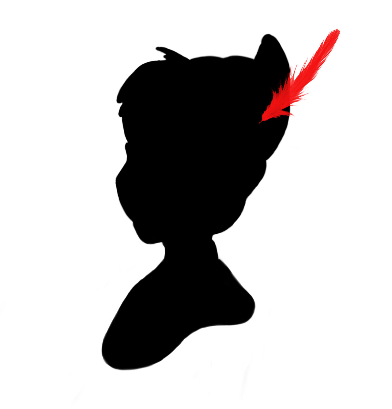1280x1337 Peter Pan Silhouette Birthday Party Stunning Silhouettes