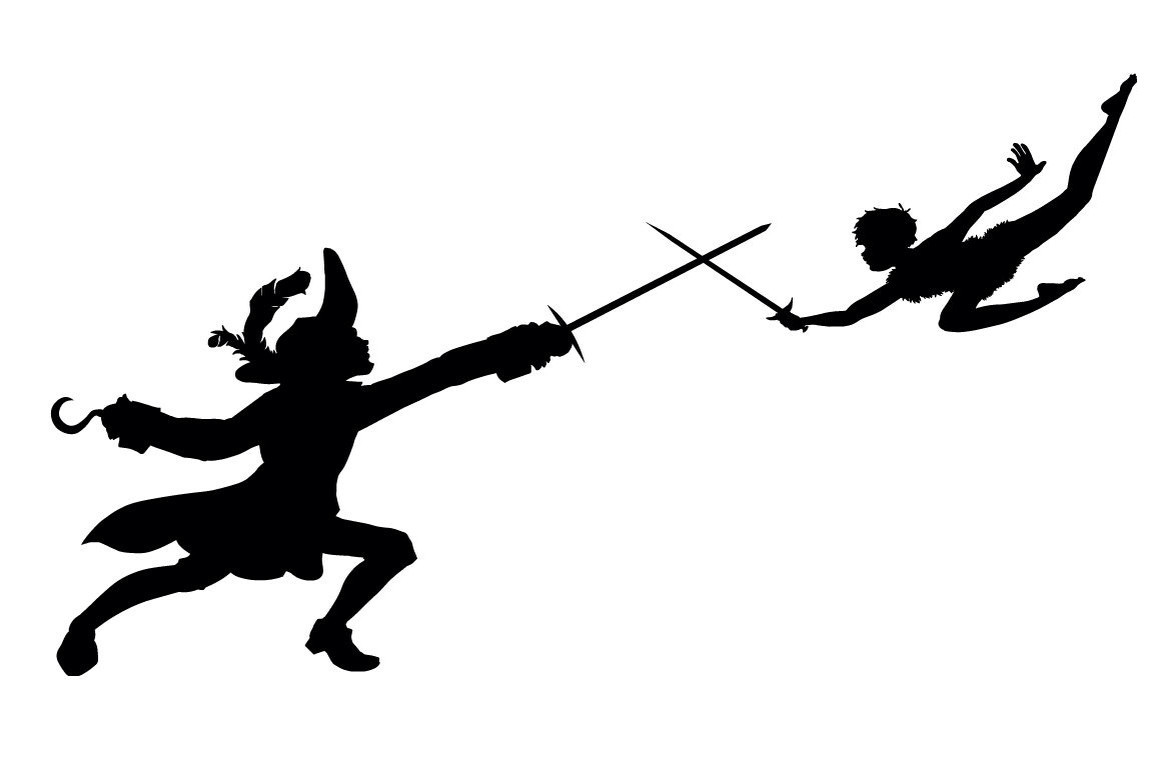 1173x782 Peter Pan Vector Silhouettes Brilliant Silhouette Flying