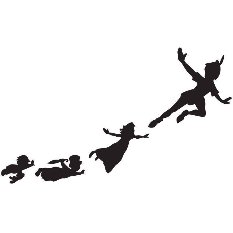 800x800 Peter Pan Silhouette Piece Interlocking Anti Fatigue Floor Mat