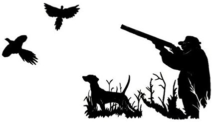 425x245 Pheasant Bird Hunting Decal Md4 Vinyl Window Truck