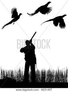 236x319 Pheasant Silhouette