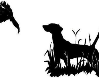 340x270 Pheasant Hunting Silhouette