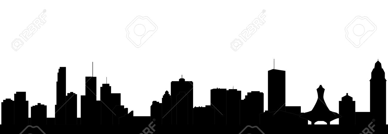 1300x451 Skyline Clipart Generic