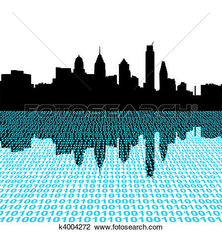 450x470 Miami Clipart Philly Skyline