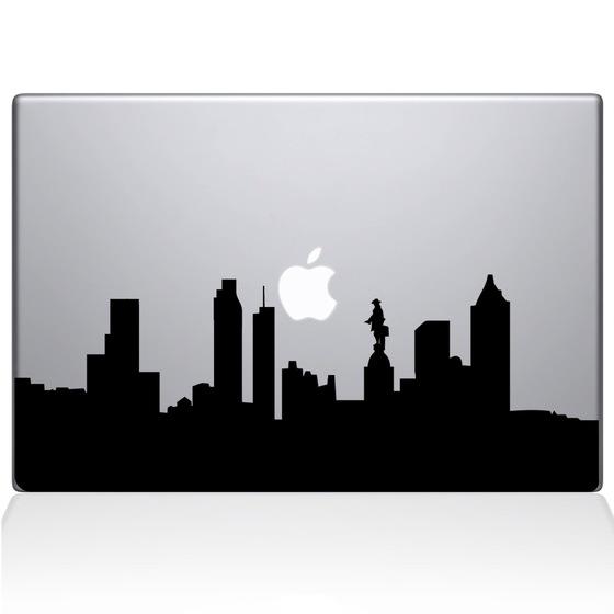 560x560 Philadelphia City Skyline Macbook Decal Macbook Decals