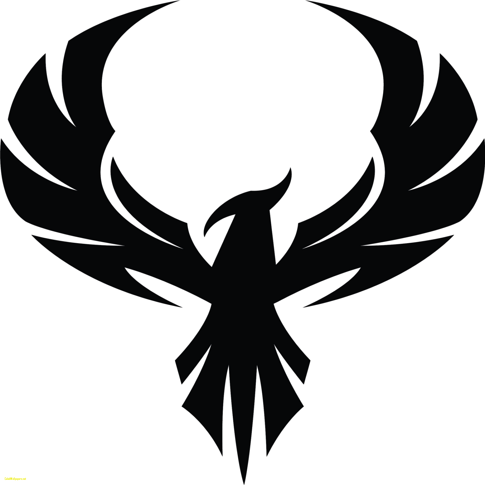 phoenix silhouette at getdrawings com free for personal use rh getdrawings com phoenix clip art black and white phoenix clipart vector
