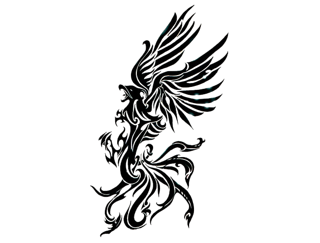 650x495 Phoenix Tattoos Png Transparent Images Png All